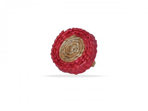 28.Anillo Spin bicolor