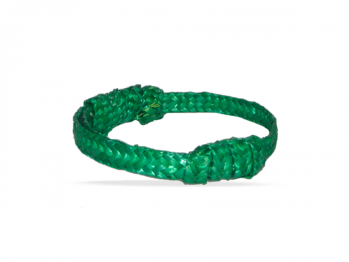 32.Pulsera simple verde